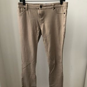 Soft tan long pants